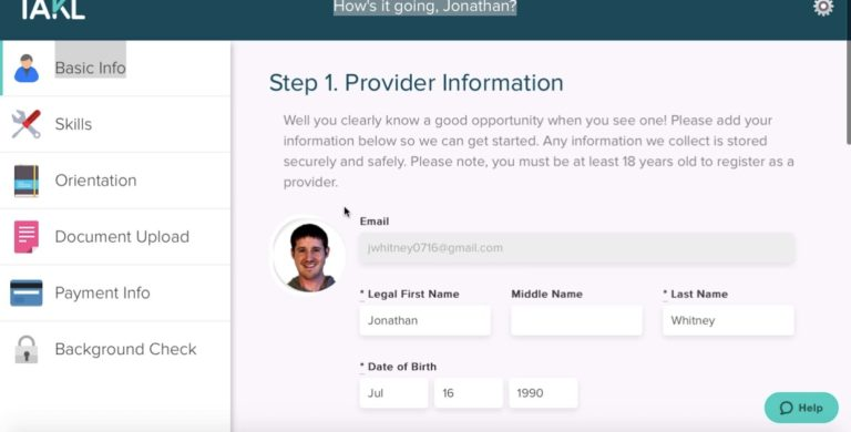 How to Sign up For Takl